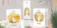 Beautifully packaged pasta