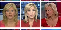 The diversity of Fox news anchors.