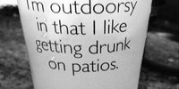 I'm outdoorsy...ish.