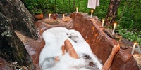 I could bathe here.