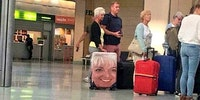 Susan never loses her suitcase.