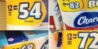 Toilet paper math is hard.