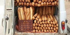 Maurice the baguettes, hurry up!