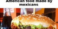 Mexican food vs American food