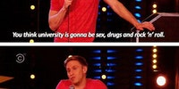 Reality of university