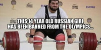 Russian banned from the Olympics