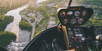Helicopter Pilots View