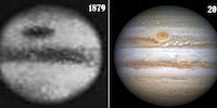 Jupiter 1879 and 2016. Science is cool.