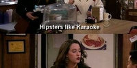 Hipsters, Hitler and karaoke.