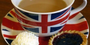 Tea, the most English drink.