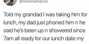 Treat your grandparents right
