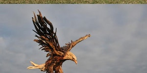 Amazing wooden sculptures.