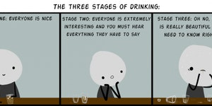 Three Stages of Drinking