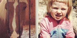 She's a horse girl.