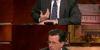 Colbert gets it