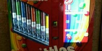 Beautiful vending machine from the rainbow gods.