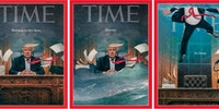 Time Magazine Covers: February 2017, April 2018, and September 2018