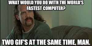 What would you do with the world's fastest computer?