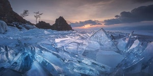 Baikal Ice Fields, Russia
