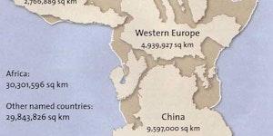 Africa Is Gigantic