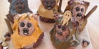 Ewok cuppy cakes.