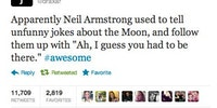 Remembering Neil Armstrong.