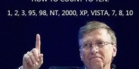 Bill Gates Counts To Ten