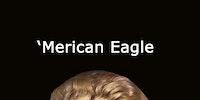 American Eagle vs. 'Merican Eagle.