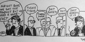 Toilet paper?