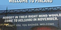 Finland is a mythical place.