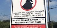 Be aware of the cloakman.