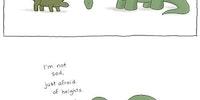 Poor brontosaurus.