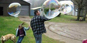 BRB MAKING BUBBLES