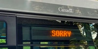 Canadian public transport, basically.