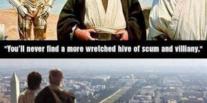Spot on Obi-Wan.