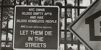 Let them die in the streets - USA, 1990