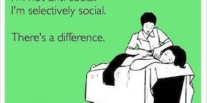 I'm not anti-social.