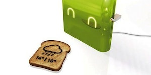 Cool toaster is cool.