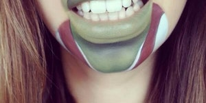 Shrek lips