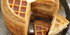 Maple Belgian Waffle Cake. Yes.