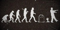 Evolution of zombies.