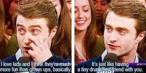 Daniel Radcliffe On Children