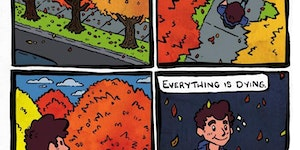 Fall is here.