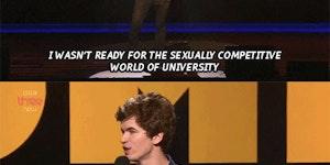 University is hard.