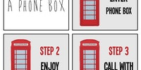 How to use a phone box.