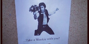 It's dangerous to go SOLO... take a Wookie with you!