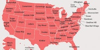 The most lewd-sounding town name in each state