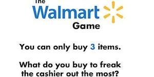 The Walmart game.
