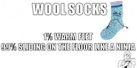 Wool socks are the best.