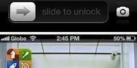Slide to unlock Gangnam style.